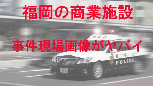 事件現場に向かうパトカー